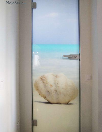 Szklane Drzwi Z Grafika Wewnetrzne