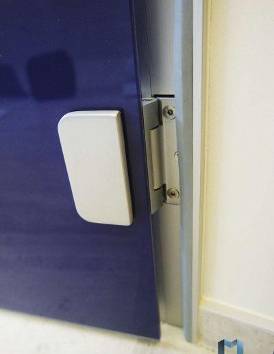 Szklane Drzwi Z Grafika Zawiasy
