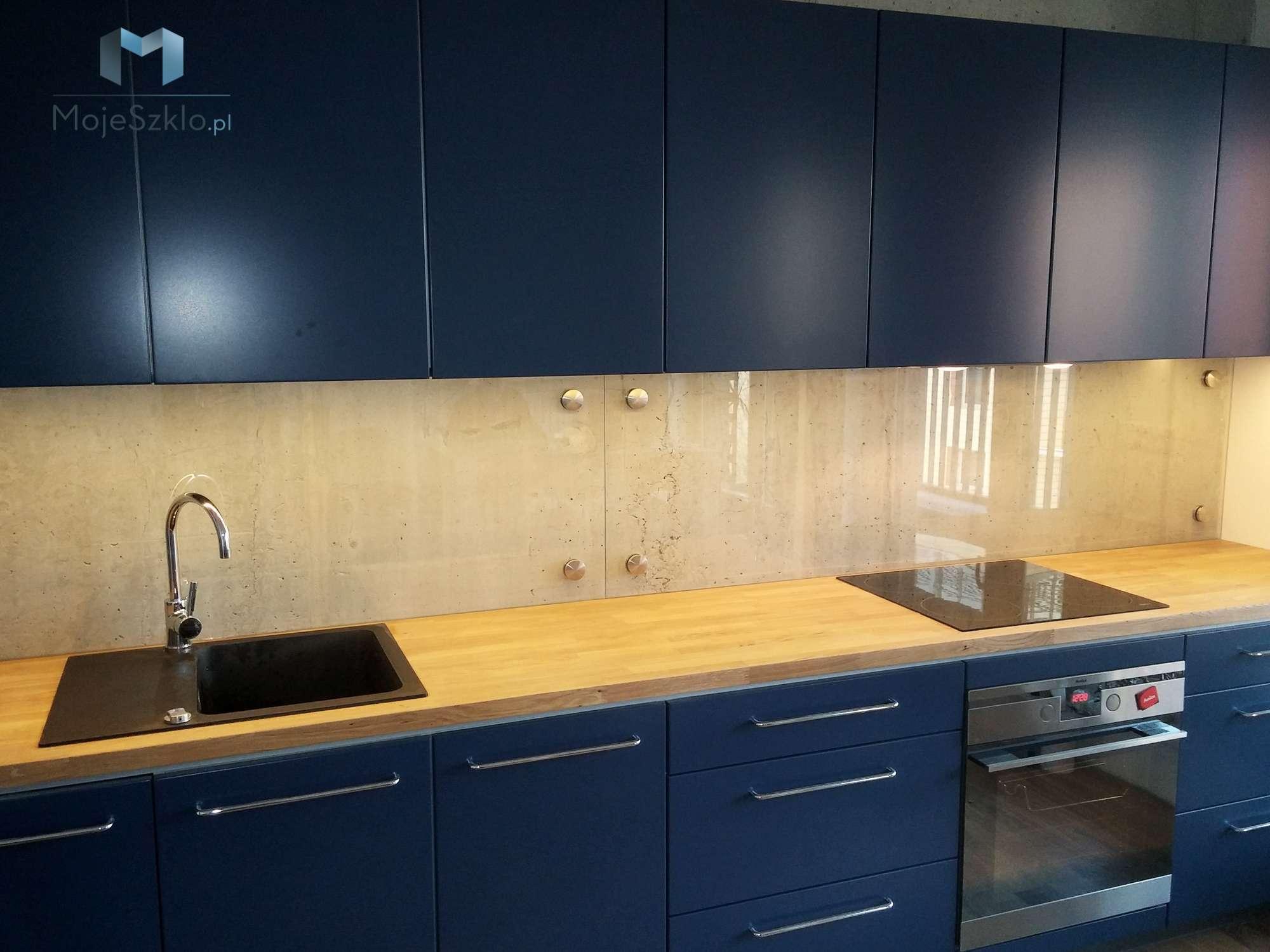 Szkło Na ścianę W Kuchni Panele Szklane Mojeszklopl