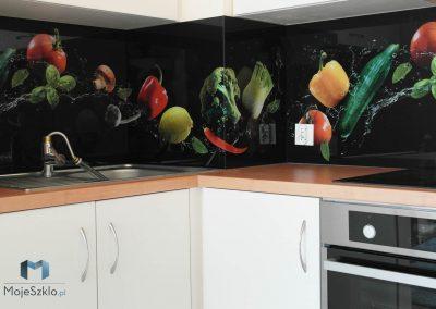 Szklane Panele Do Kuchni Warzywa
