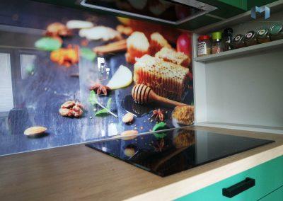 Szklane Panele Kuchenne Wzory