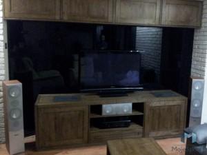 Szklane Panele Lacobel 9005 Klasyczna Czern