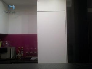 Szklane Panele Lacobel Kuchnia Lakobel 0337 Gwiezdzista Czern