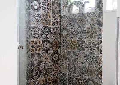 Szklany Prysznic Dwuelementowy Do Rogu