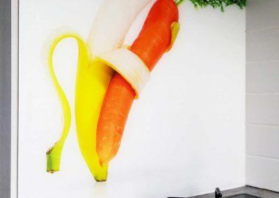 Szklo Do Kuchni Banan