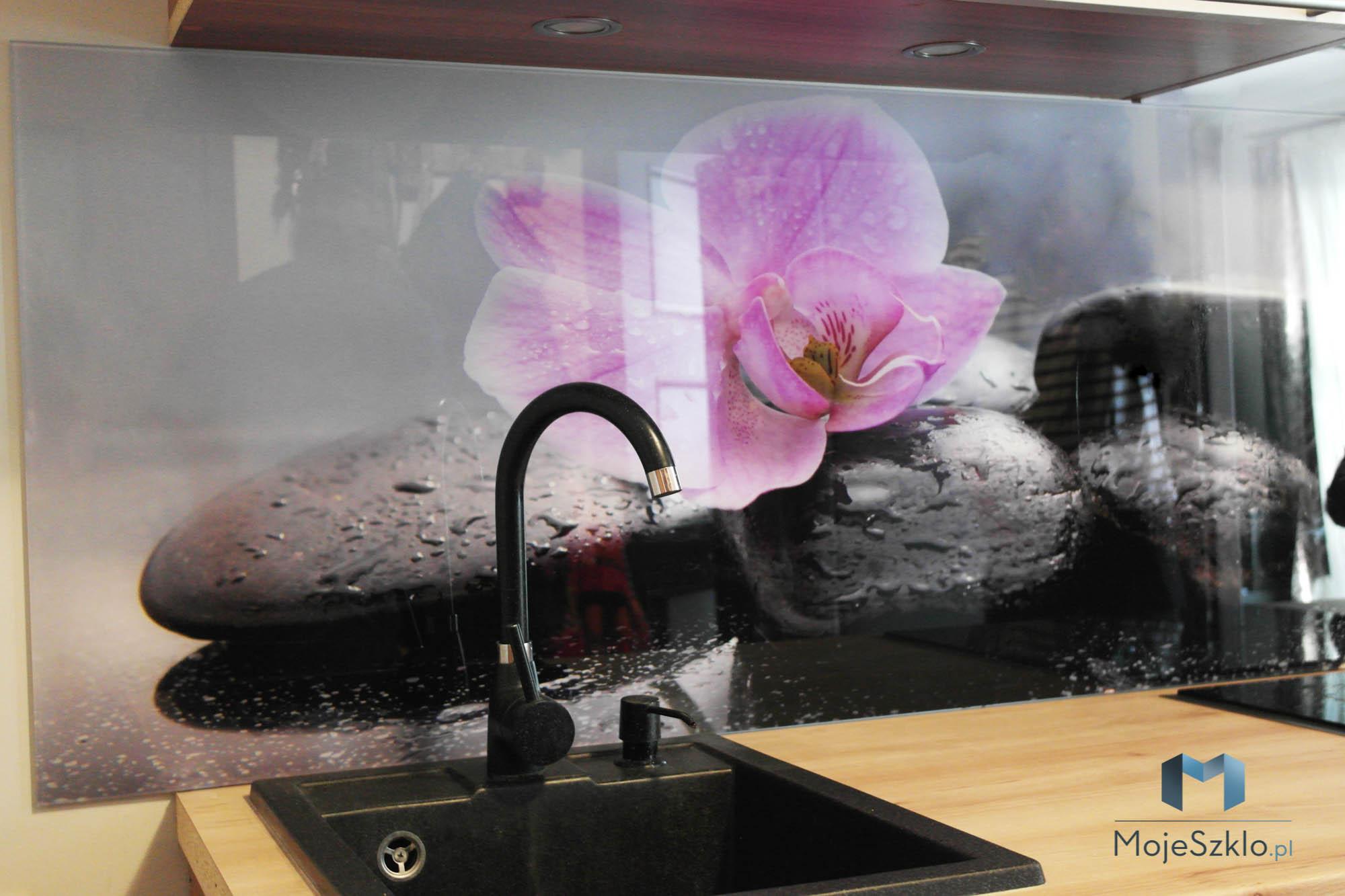 Szklo Do Kuchni Orchidea Krakow - Szklane panele kuchenne. Najlepsze wzory do kuchni