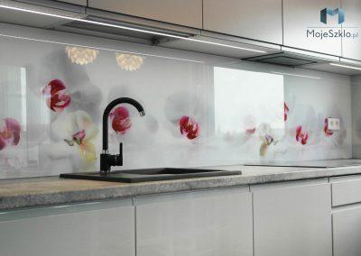 Szklo Do Kuchni Orchidea Kwiaty