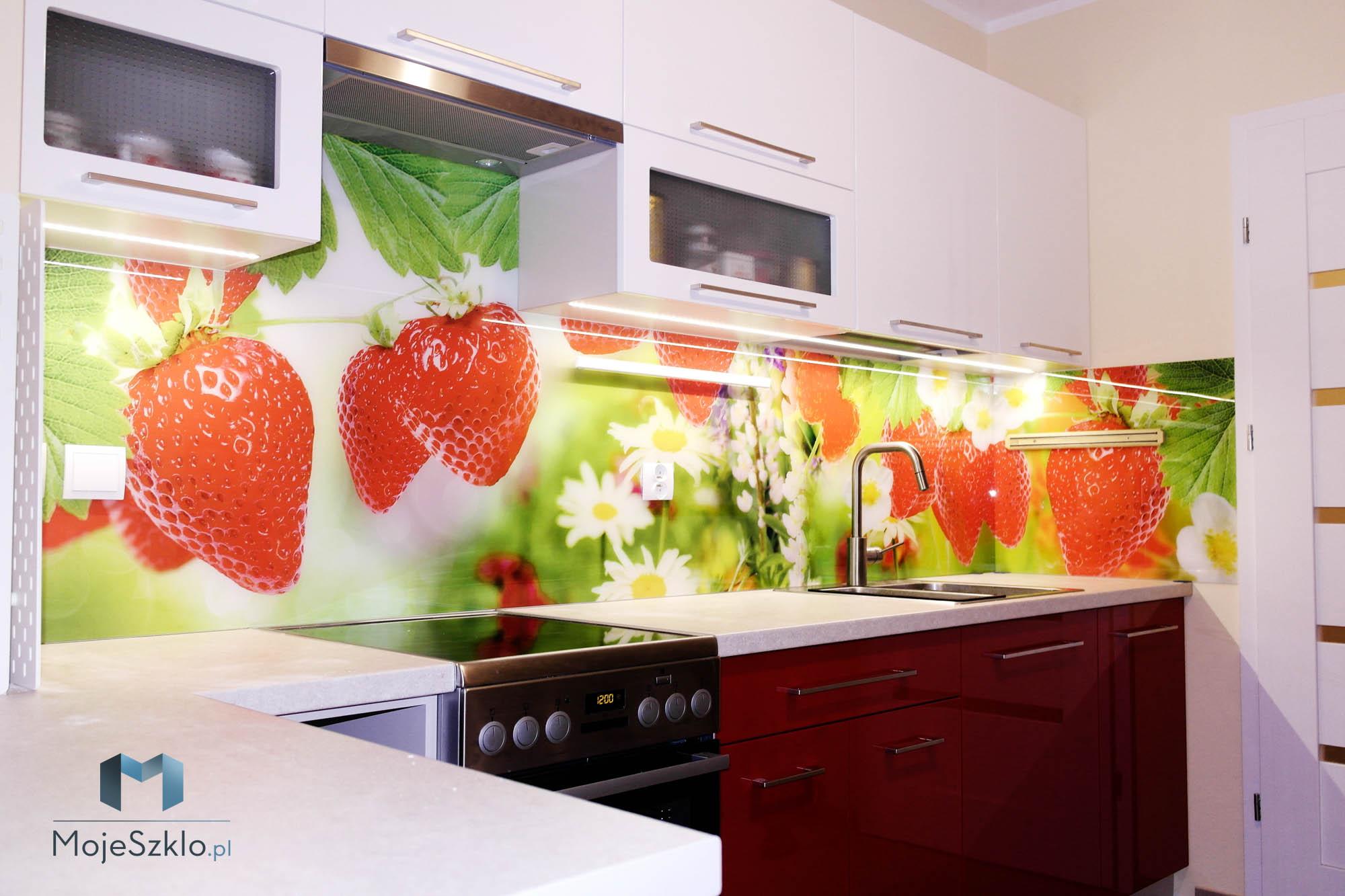 Szklo Do Kuchni Truskawki Krakow - Szkło dekoracyjne z grafiką. Informacje przed zakupem