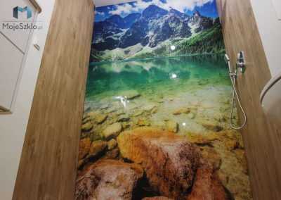 Szklo Do Lazienki Jezioro Gory