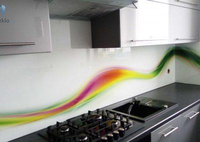 Szklo Grafika Kuchnia Kolorowa