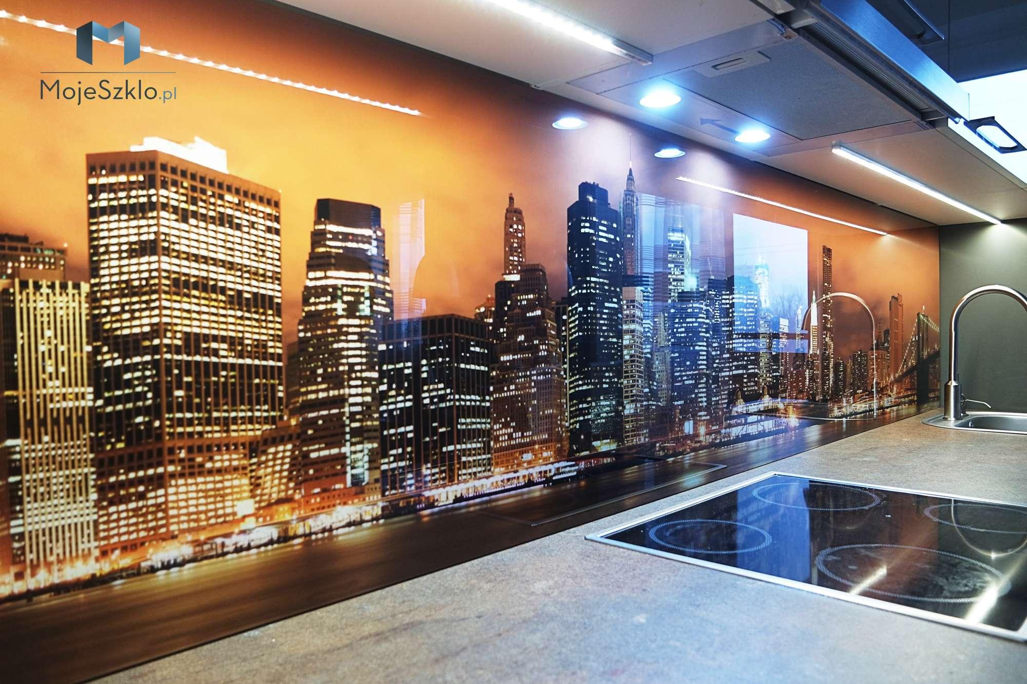 Szklo Hartowane Nowy Jork - Szkło hartowane do kuchni z nadrukiem miasta