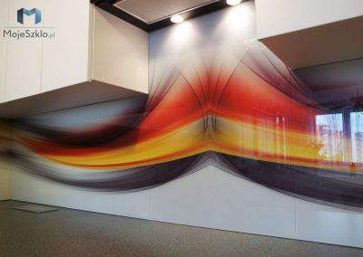 Szklo Kuchenne Abstrakcja Kolor