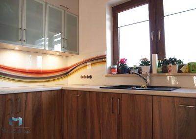Szklo Kuchenne Abstrakcja Pasy