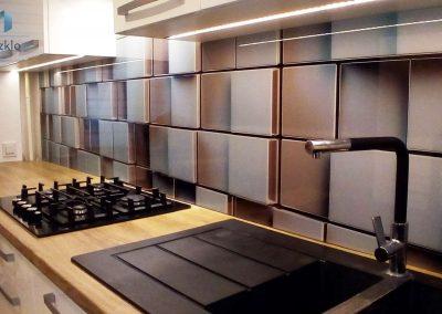 Szklo Kuchenne Szesciany 3D