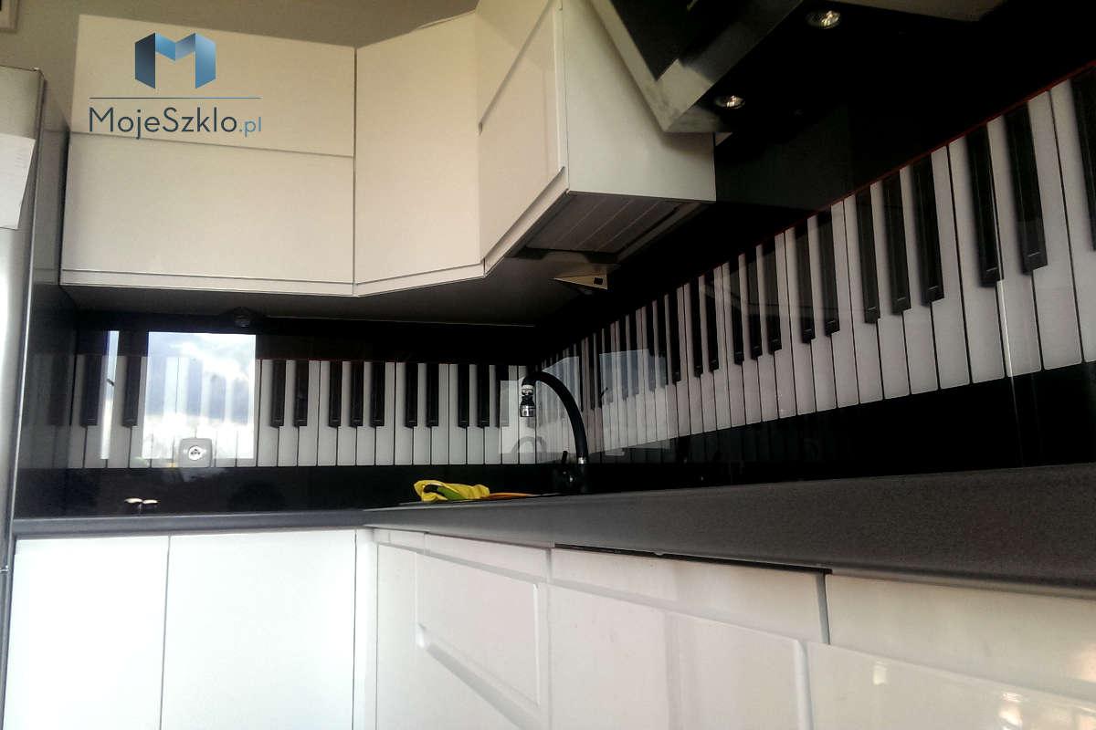 Szklo Nad Blatem Kuchennym - Panele szklane - Grafiki i abstrakcje
