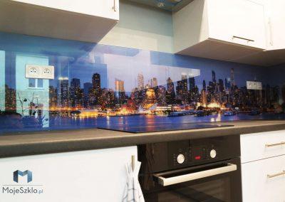 Szklo Ozdobne Kuchnia Nowy Jork