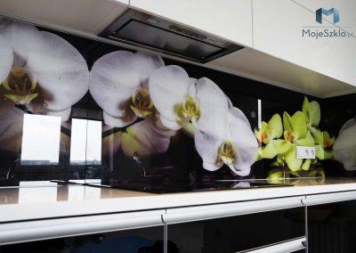 Szklo Ozdobne Orchidea Kuchnia