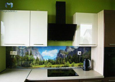 Szklo W Kuchni Las Gory