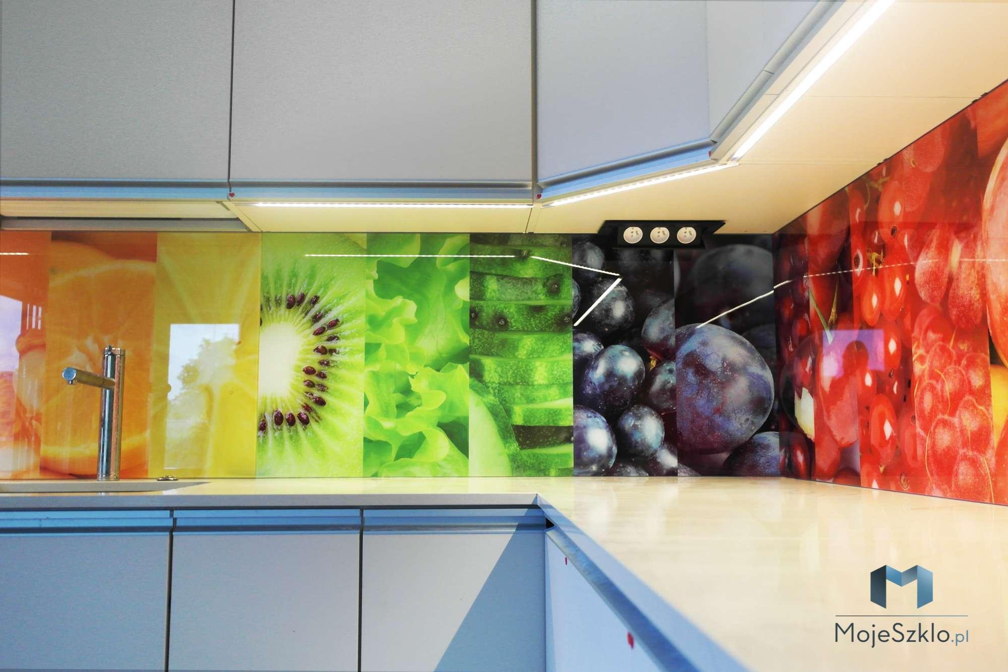 Szklo W Kuchni Owoce - Lustro w kuchni. Panele lustrzane do kuchni
