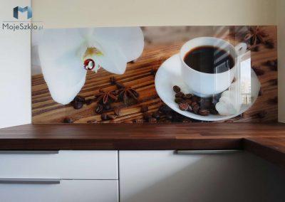 Szklo Z Grafika Filizanka Kawy