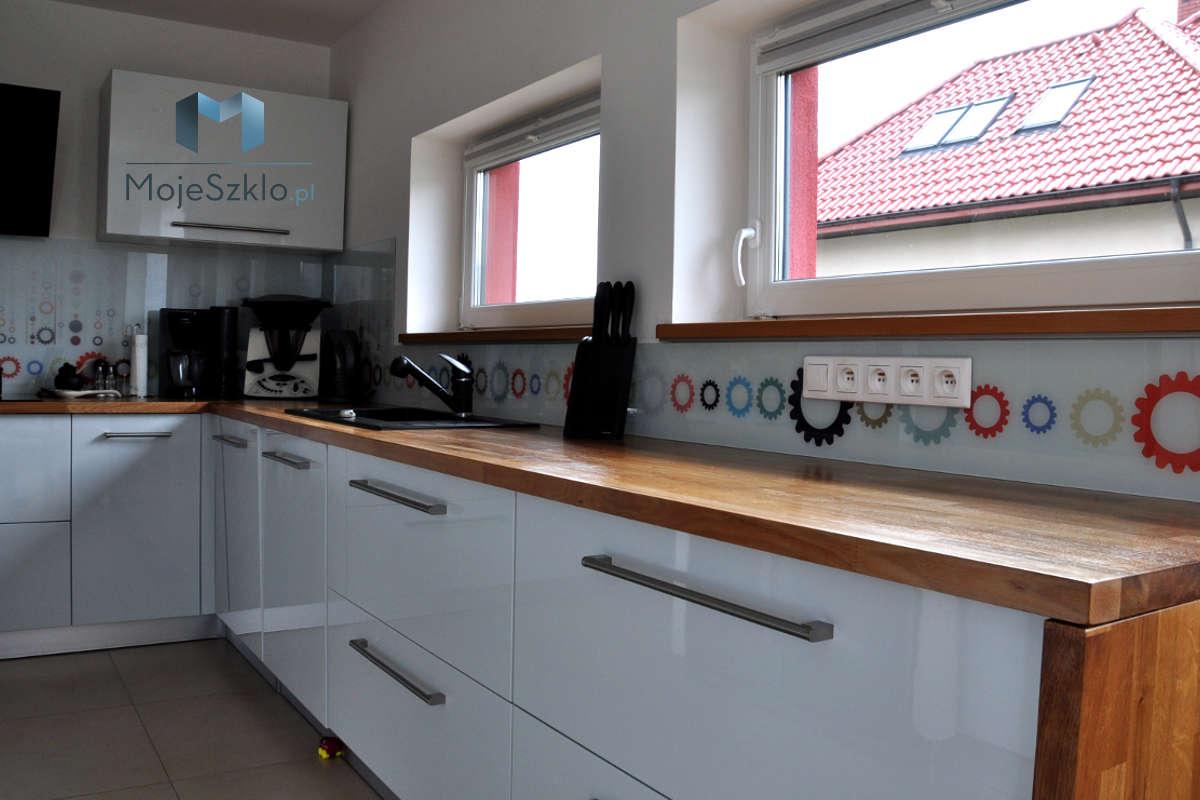 Szklo Zamiast Plytek W Kuchni - Panele szklane - Grafiki i abstrakcje
