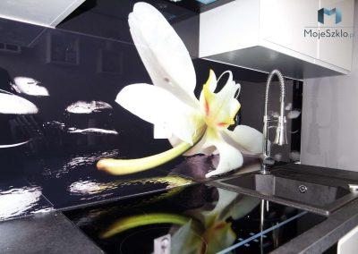 Szyba Do Kuchni Kwiaty Zen