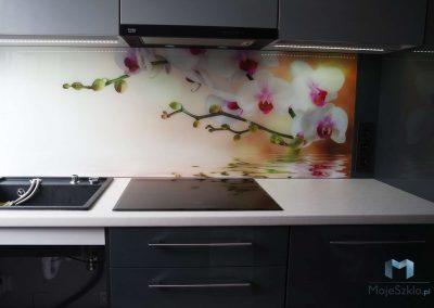 Szyba Do Kuchni Orchidea