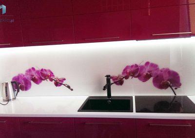 Szyba Do Kuchni Orchidea Kwiaty