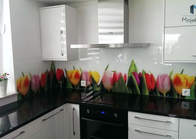 Szyba Do Kuchni Tulipan