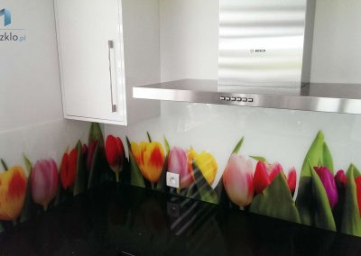 Szyba Do Kuchni Tulipany Krakow