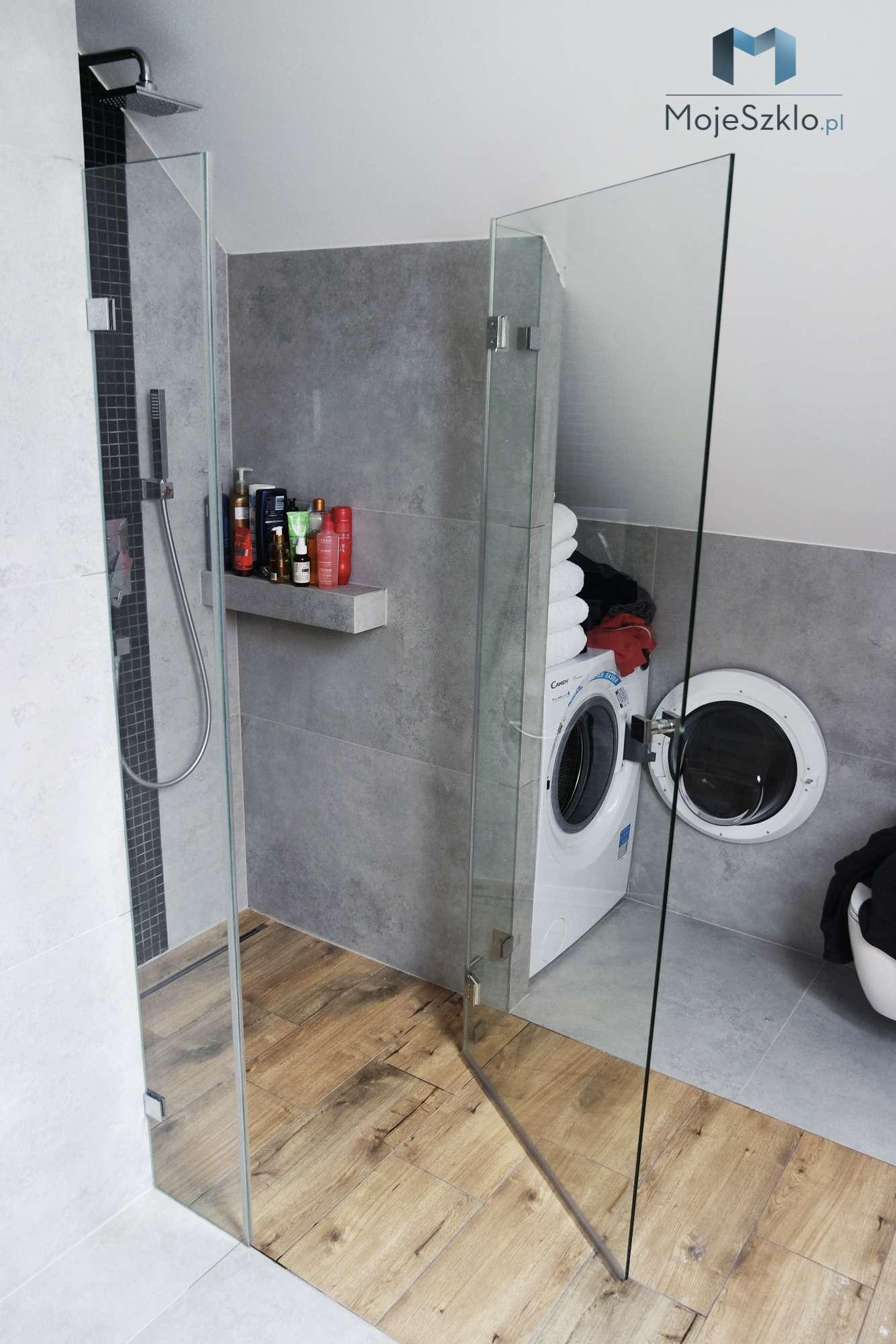 Wnekowa Kabina Prysznicowa Trzyelementowa - Kabiny prysznicowe wnękowe na wymiar